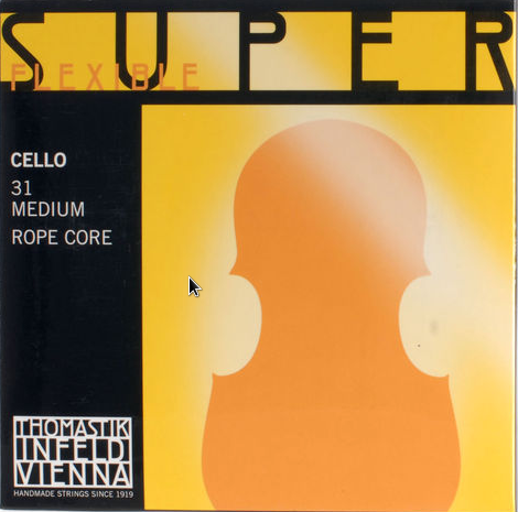 THOMASTIK SUPERFLEXIBLE STRINGS CELLO