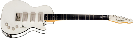 ST BLUES BLUES GUITARS WHITE LIGHTNING